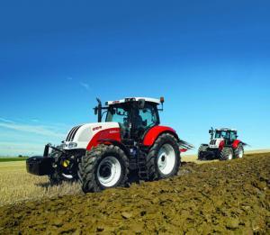 Трактор STEYR CVT Eco-Tech