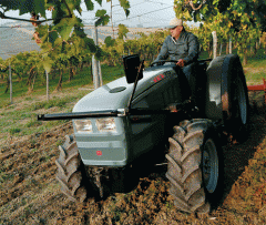 Трактор Хърлиман Серия XE F Tradition с мощност от