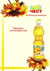 Рафинирано слънчогледово олио ЧЕСТ