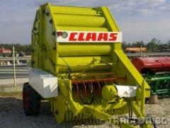 Сламопреса Claas Rollant 62 - рулонна сламопреса