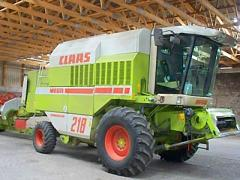 Зърнокомбайн Claas Mega 218