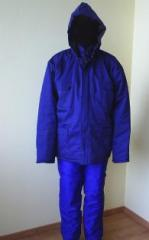 Работно облекло - Шуба и полугащеризон
