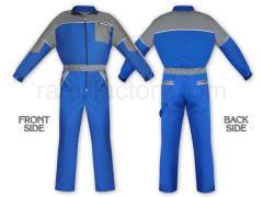 Работно облекло Гащеризон G1402