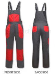 Работно облекло Полугащеризон P1401