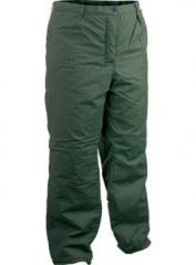 Ватиран панталон, 100% памук, хидрофобиран Z9