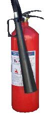 Пожарогасител с въглероден диоксид – 2 кг