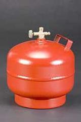 Туристическа бутилка за втечнен газ - 10 л.