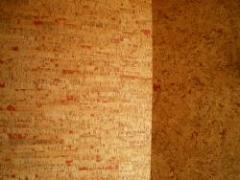 Cork wall coverings