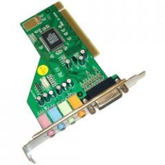 Звукова карта вътрешна C-Media 8738 4 канална PCI