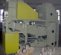 Equipment for the production of vegetable oil