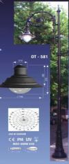 Улично осветление– тип капка