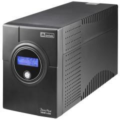 Аварийно захранване Power Must 2000 LCD-2000VA MUSTEK,IEC C13x4,2xRJ45,RS232