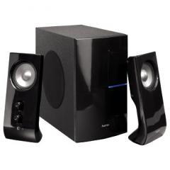 Звукова система 2.1 I-400,2x4.5W+1x7W, 21W P.M.P.O