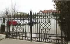 Дворни врати от ковано желязо-серия Монако