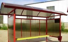 Автобусни спирки от метал и поликарбонатни
