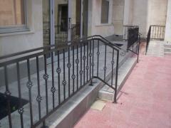 Метални парапети за балкони-икономичен клас