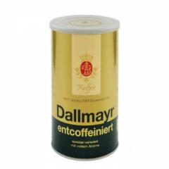 Кафе Dallmayr ENTCOFFEINIERT 250гр мляно, мет.