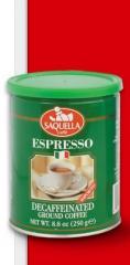 Мляно кафе Saquella Espresso Decaf
