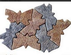 Фасадна плочка Пеперуда