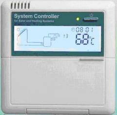 Controllers for solar water heating systems