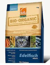 Био храна за котки с риба 1 кг