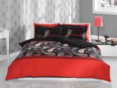 Спален комплект Kimono black - Delux Saten