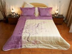 Спален комплект за двойно легло Butterfly Creme