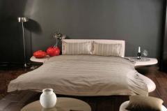 Спален комплект за двойно легло Stripes Olive