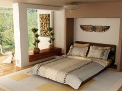 Спален комплект за двойно легло Zebra