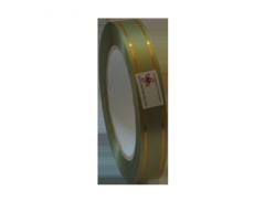 Панделка златни ленти войнишко зелено