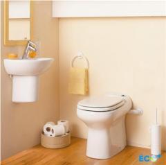 Тоалетна чиния с вградена помпа SANICOMPACT Elite