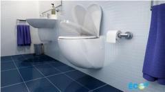 Тоалетна чиния с вградена помпа  SANICOMPACT