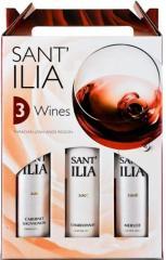 Пакет 3 бутилки: Мерло, Розе и Каберне Сант Илия