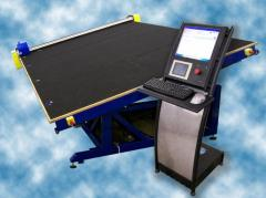 Equipment for cutting of sheet glass