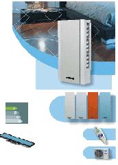 Инверторен климатик Carrier за високостенен монтаж