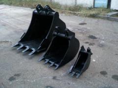 Spare parts for excavators