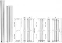 Алуминиев радиатор  FERROLI модел TAL