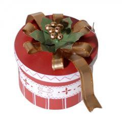 Дървена кутийка за подарък