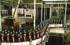 Линия за бутилиране на газирана вода