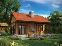 Сглобяеми къщи Хубав дом - Проект 42 м2