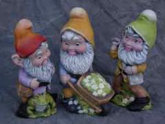 Джуджета градински керамични
