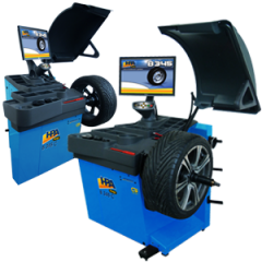 В 345 - Електронна баланс машина с монитор за гуми