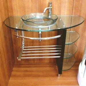 Стъклена мивка FD-113 B