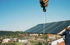 Колектор gigaSol за вграден монтаж в покрив