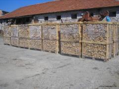 Дърва за огрев на палети