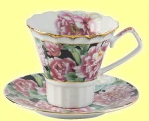 Комплект чашка и чинийка кафе/чай.
