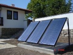 Колектор sunnySol за монтаж върху покрив