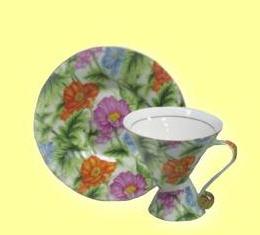 Комплект чашка и чинийка чай/кафе