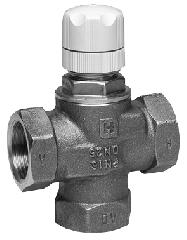Трипътен вентил Honeywell PN16, DN15-32, V135
