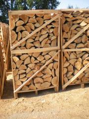 Опаковани дърва за огрев
